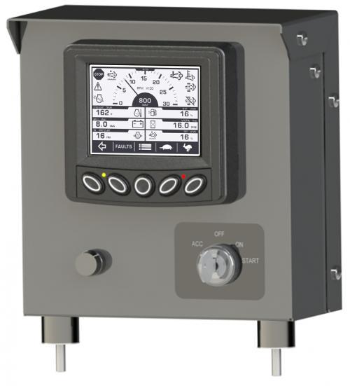 MLC380 Mechanical Panel