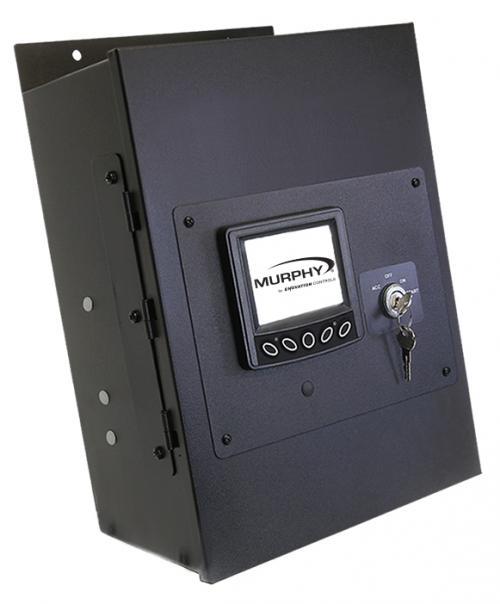 MLC380 panel configured for ISUZU engines